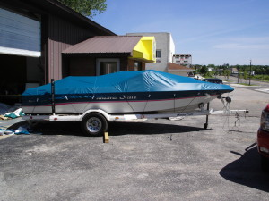Marine Services. Marine Upholstery, boat covers, travel & storage covers