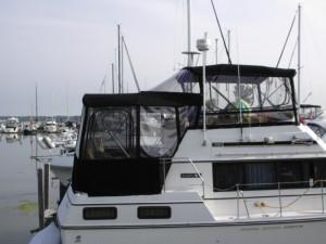 photo of custom boat enclosure